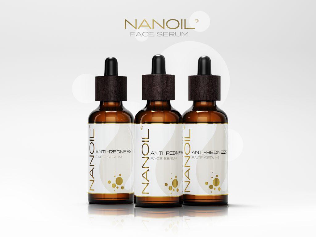 ulubione serum do twarzy do cery naczynkowej Nanoil