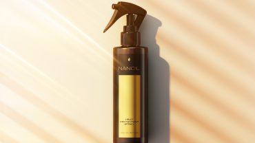 Nanoil polecany spray termoochronny do włosów